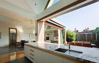 Indoor Outdoor Kitchens Basser House Contemporary Kitchen Melbourne By Mihaly Slocombe