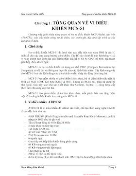 Giáo Trình Vi Điều Khiển - Phạm Hùng Kim Khánh, 34 Trang.pdf