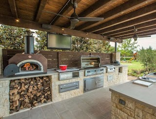 Outdoor Kitchen Decor 20 Beautiful Ideas 101 Recycled Crafts
