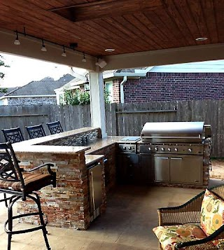 Outdoor Kitchen Cost to Build an in Houston
