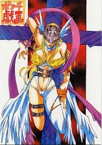 (C58) [Natsumoto Shoubou (Natsumoto Masato)] Ponchi Giga (Digimon) [English] [SMDC]