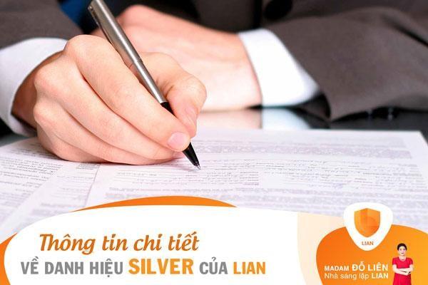 Thông tin chi tiết về danh hiệu Silver trong mô hình 5 cấp bậc của LIAN