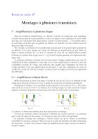 Cours sur le montage a plusieurs Transistors Electronique General.pdf