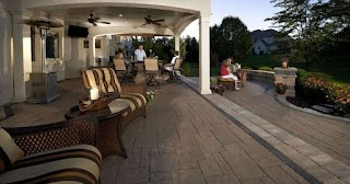 Outdoor Kitchen Omaha Stunning Pavers for Rustic and Traditional S In