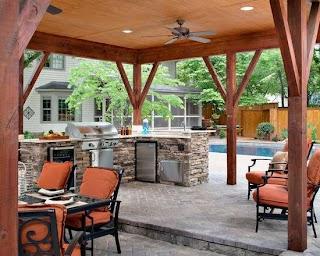 Covered Outdoor Kitchen 17 Stunning Design Ideas Style Motivation