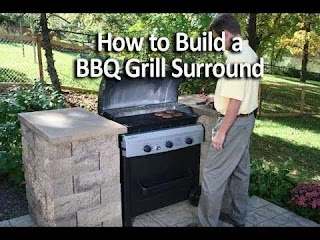 How to Build Outdoor Bbq Kitchen an Or Grill Surround Youtube