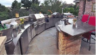 Plumbing for Outdoor Kitchen Installing Patterson Heating Inc