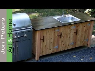 Outdoor Kitchen Cabinet How to Build an Part 2 Youtube