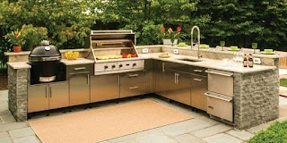 Outdoor Kitchen Units How Bbq to Build an Striking Prefabricated Bar