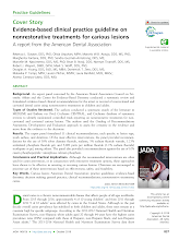 Evidence-based clinical practice guideline on nonrestorative treatments for carious lesions: A report from the American Dental Association