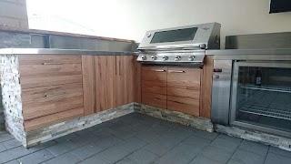 Bunnings Outdoor Kitchens Alpine Oak DIY Panel Competition Ash