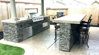 Outdoor Kitchen Island Covers Custom Backonlineinfo