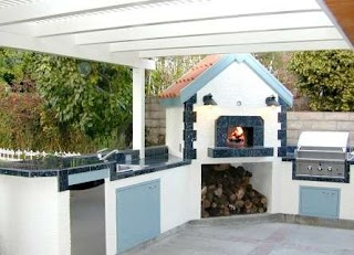 Fogazzo Outdoor Kitchens Wood Fired Ovens on Pinterest