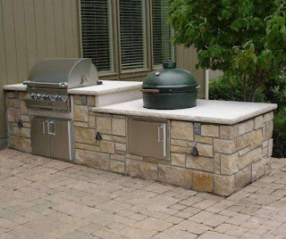 Prefab Outdoor Kitchen Kits Design