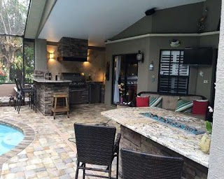 Florida Outdoor Kitchens Land O Lakes Fl Kitchen and Grills