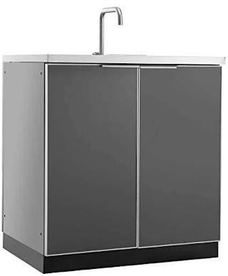 Outdoor Kitchen Sink Cabinet Amazoncom Newage 65201 Storage