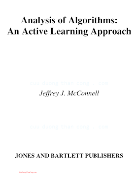 0763716340 {2933FB30} Analysis of Algorithms_ An Active Learning Approach [McConnell 2001-04-06].pdf