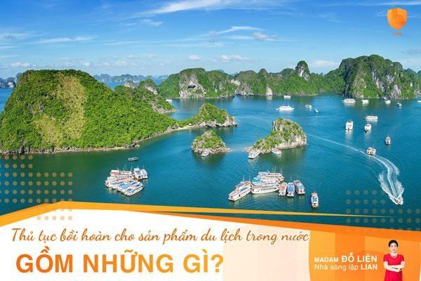 Hồ sơ yêu cầu chi trả quyền lợi bảo hiểm cho sản phẩm bảo hiểm du lịch trong nước gồm những gì?