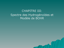 CHAPITRE III cours chimie.ppt