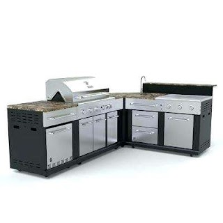 Lowes Modular Outdoor Kitchen Refrigerator Inspirational Barbecue Islands