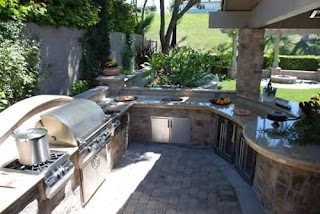 Outdoor Kitchen Appliances Houston Cost Landscaping Network