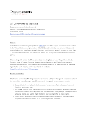All Committees Meeting