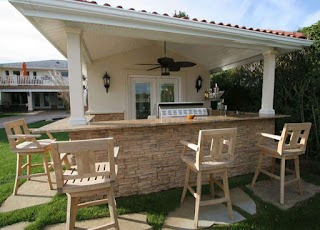 Outdoor Kitchen Roofs Solid Roof Roof Gallery Xtend