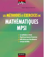 J.J Monier Mathématiques MPSI Exercices Et Méthodes.pdf