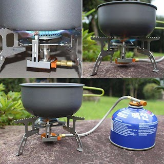 Outdoor Camping Kitchen Equipment 2019 Wholesale New Foldable Barbecue Stovemini Ultralight