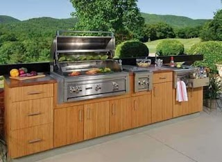 Outdoor Kitchen Cabinets Lowes Design Ideas Nonwarping Patented