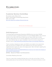 Customer Service Committee