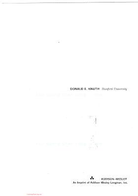 0201896834 {B0071FC5} The Art of Computer Programming (vol. 1_ Fundamental Algorithms) (3rd ed.) [Knuth 1997-07-17].pdf