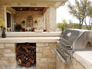 Outdoor Kitchen Stone 20 S and Grilling Stations Hgtv