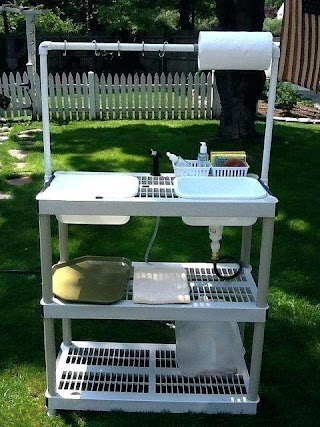 Outdoor Camping Kitchen Equipment Ccstasteofsoul