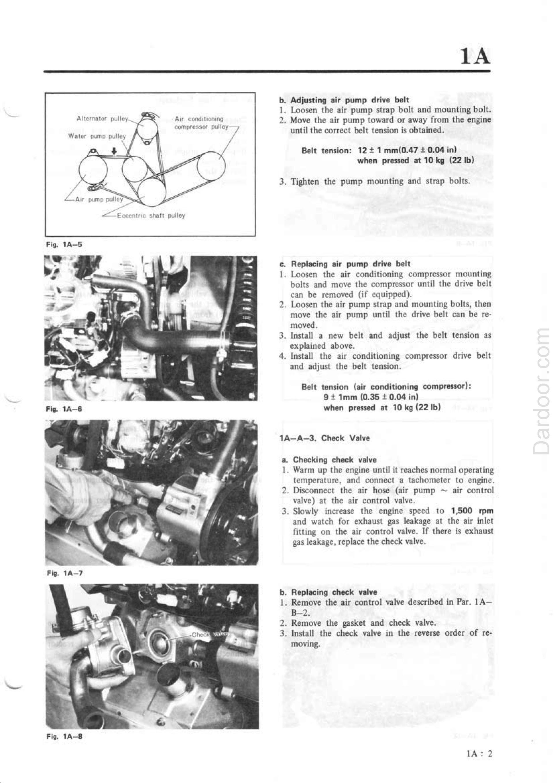 1980 Mazda RX7 repair manual
