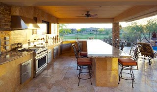 Outdoor Kitchen Phoenix S and Custom Barbecues Living
