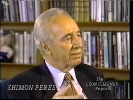 Shimon Peres (Charney Classic 1/26/1997)