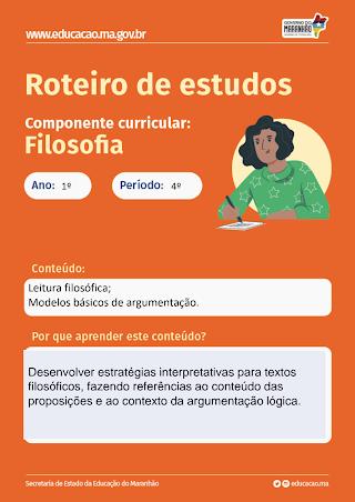MODELOS BÁSICOS DE ARGUMENTAÇÃO