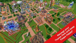 RollerCoaster Tycoon Touch Mod Apk 3.14.4 [Unlimited Money]