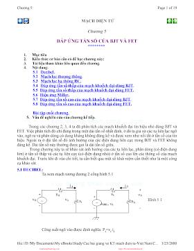 Mach Dien Tu Tuong Tu_5___Dap_ung_tan_so_cua_BJT_va_FET.pdf