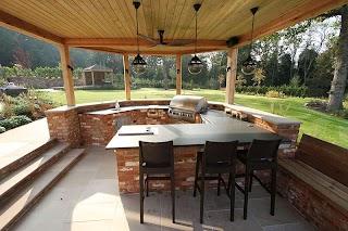Outdoor Kitchen UK Sussex Arun Landscapes