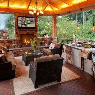 Outdoor Kitchens and Patios Designs 70 Awesomely Clever Ideas for Kitchen Architecture