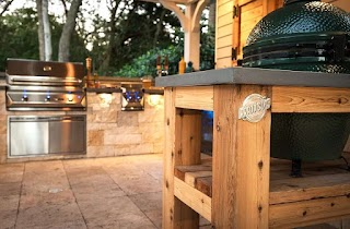 Outdoor Kitchen Wood Your Pratt Guys
