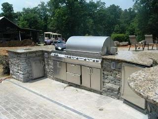 Outdoor Kitchen Distributors Santa Cecilia Granite Traditional Patio