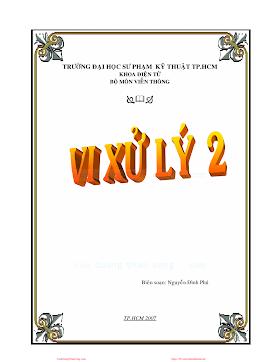 SPKT.Vi Xử Lý 2 - Nguyễn Đình Phú, 197 Trang.pdf