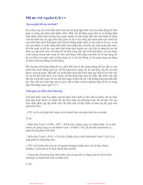 Tối ưu mã C_Nguyễn Văn Sơn .pdf