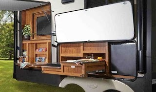 Fifth Wheel Campers with Outdoor Kitchen Travel Trailers S 7 Excellent Examples Crow