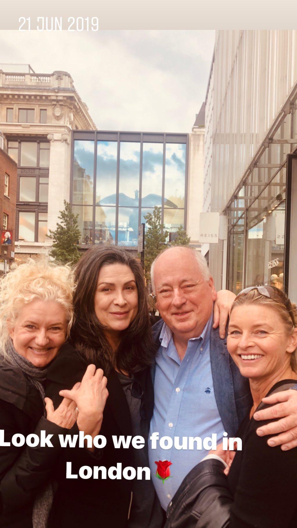 Tammy Macintosh with Pamela Rabe, Celia Ireland and Roger Hodgman in London (21 June 2019)