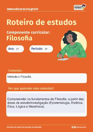 MÉTODO E FILOSOFIA