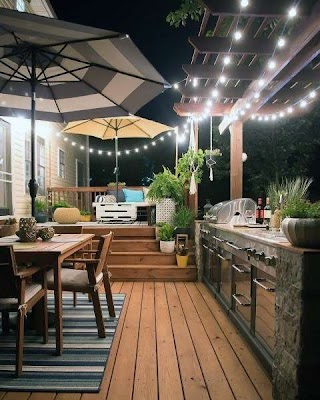 Outdoor Kitchen and Patio Top 60 Best Ideas Chef Inspired Backyard Designs